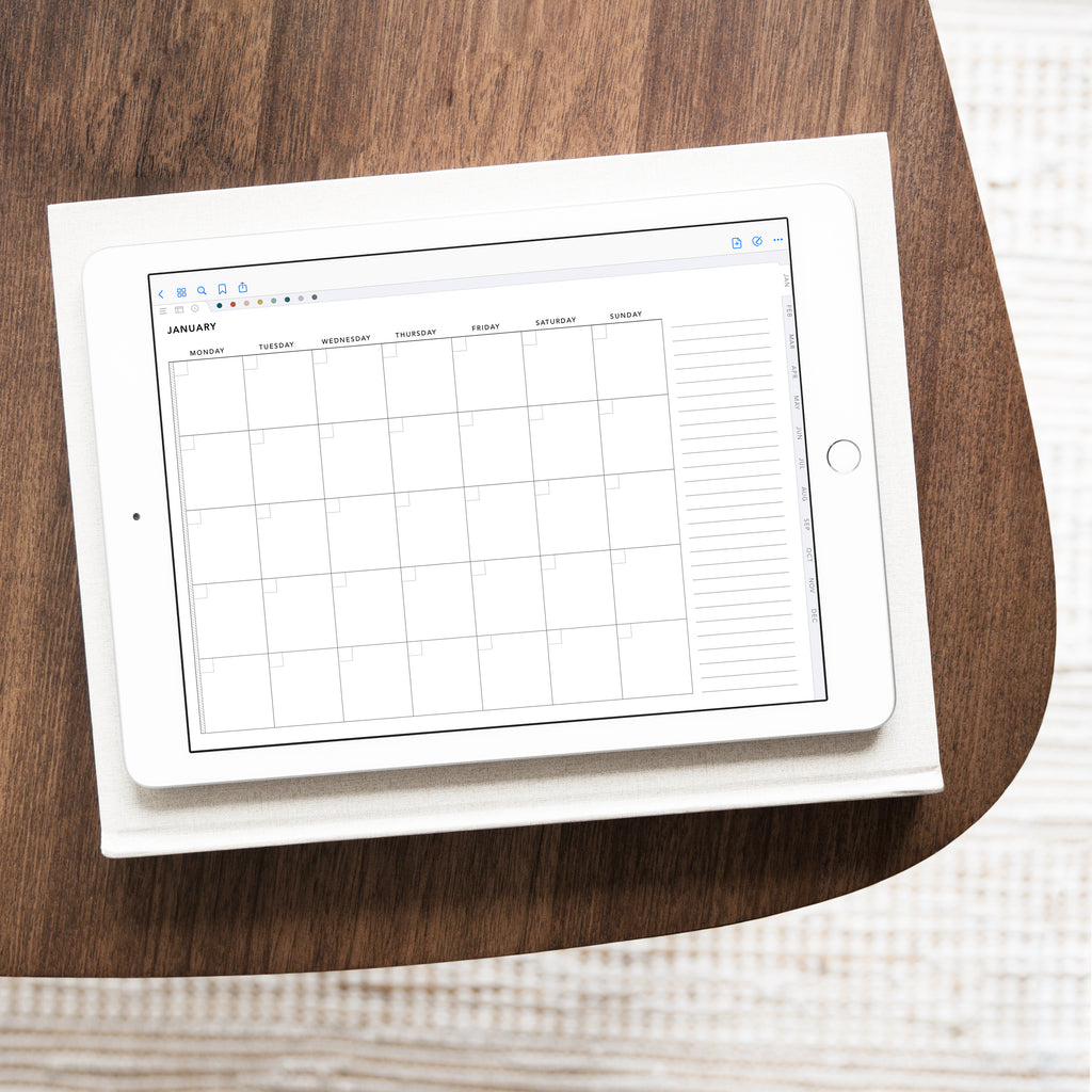 Undated Digital Planner