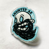 beard hat pins for men