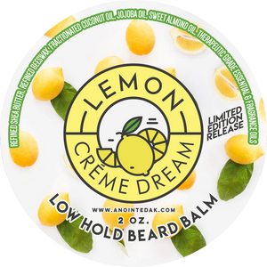 best lemon scented beard oil for men