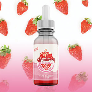 strawberry scented beard oil