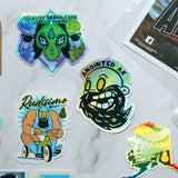 beard sticker packs for men