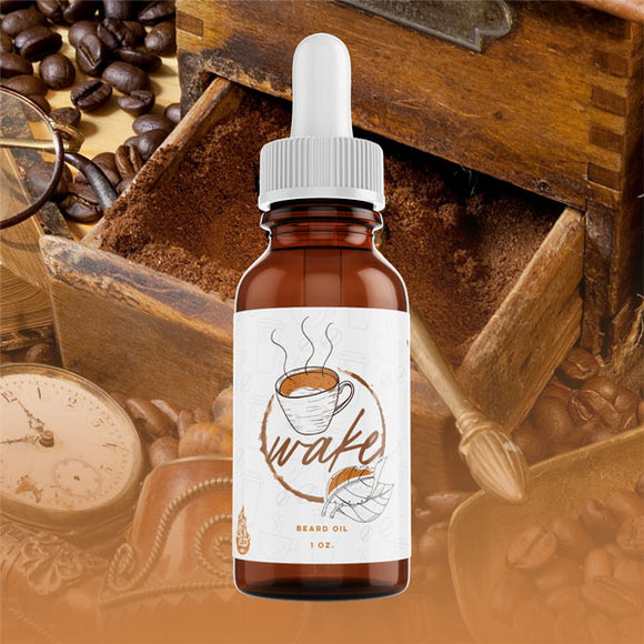best coffee scented beard oil for men