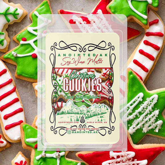 best christmas cookie wax melts