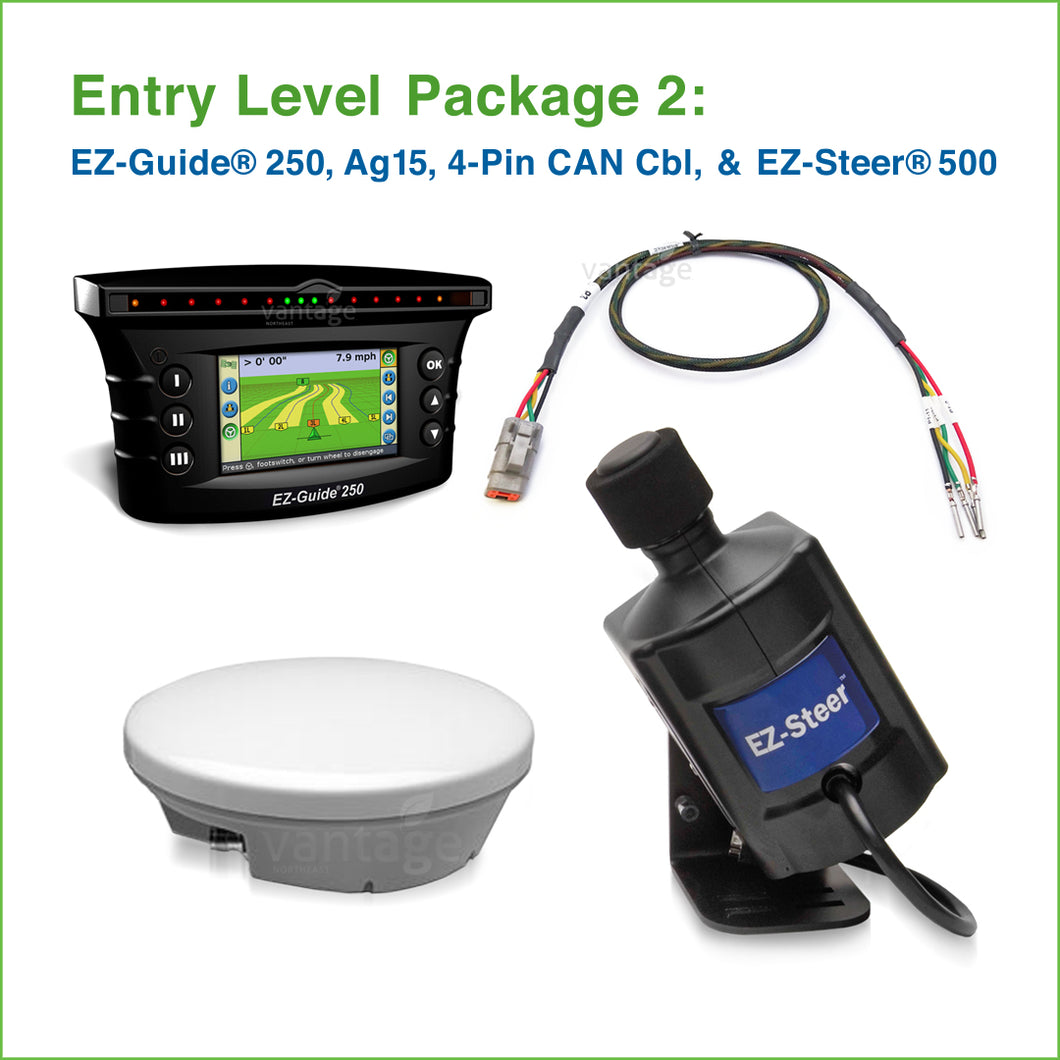 Vantage-Northeast_Entry-Level-Guidance-and-Steering-Package-2_EZ-Guide250-Ag15_4-Pin-CAN-Cbl_EZ-Steer500