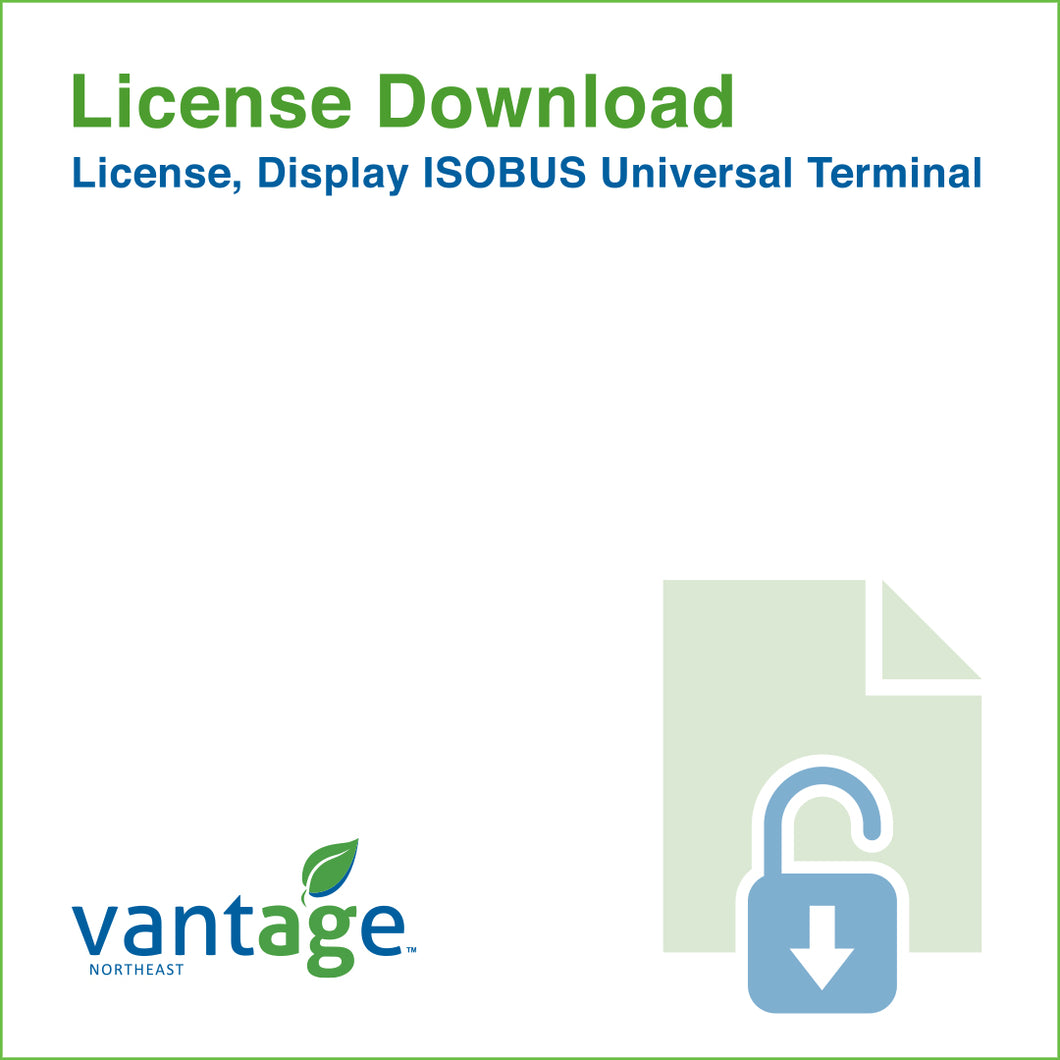 Vantage-Northeast_License_Display_ISOBUS_Universal_Terminal