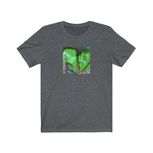 Limited Edition Heart T-Shirt | Green Heart - artrockscharity | Equality Clothing Wear Your Voice | Art Beat Live