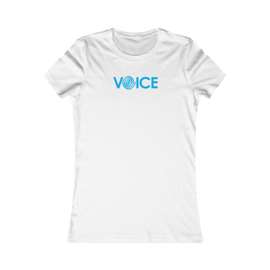 VOICE | Women's Favorite Tee - artrockscharity | Equality Clothing Wear Your Voice | Art Beat Live