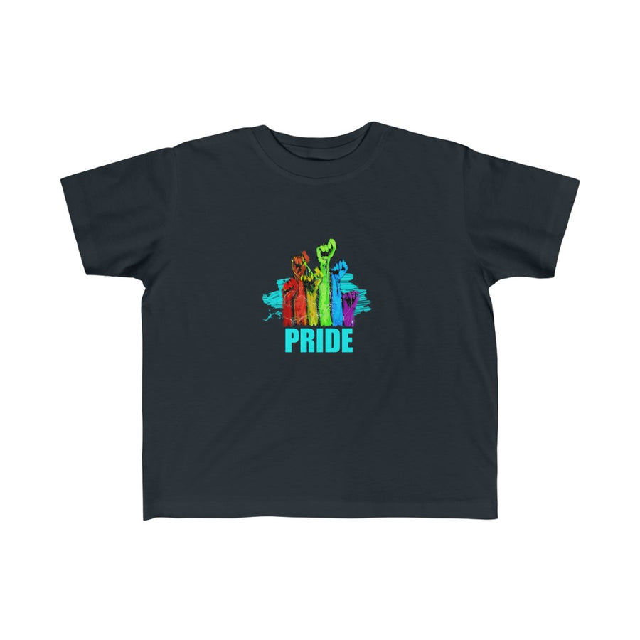 PRIDE | Kid's Fine Jersey Tee 2T-6T - artrockscharity | Equality Clothing Wear Your Voice | Art Beat Live