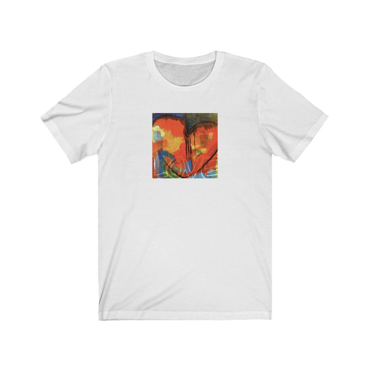 Limited Edition Heart T-Shirt | Red Heart - artrockscharity | Equality Clothing Wear Your Voice | Art Beat Live