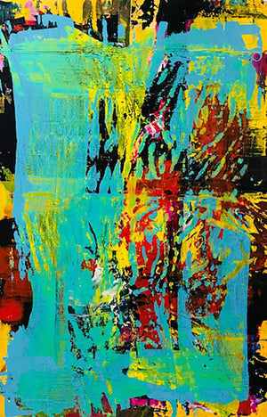 Large Scale Abstract Painting 3 - artrockscharity | Equality Clothing Wear Your Voice | Art Beat Live