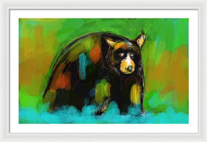 Bear Up North - Framed Print - artrockscharity | Equality Clothing Wear Your Voice | Art Beat Live