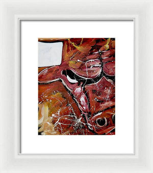 Chicago Bulls logo - Framed Print - artrockscharity | Equality Clothing Wear Your Voice | Art Beat Live