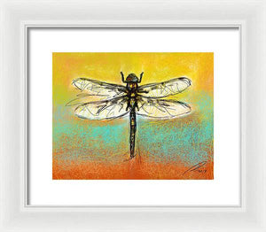 Dragon Fly 1 - Framed Print - artrockscharity | Equality Clothing Wear Your Voice | Art Beat Live