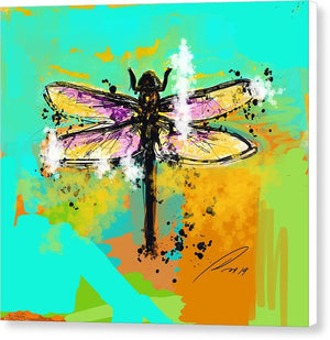 Dragon Fly 3 - Canvas Print - artrockscharity | Equality Clothing Wear Your Voice | Art Beat Live