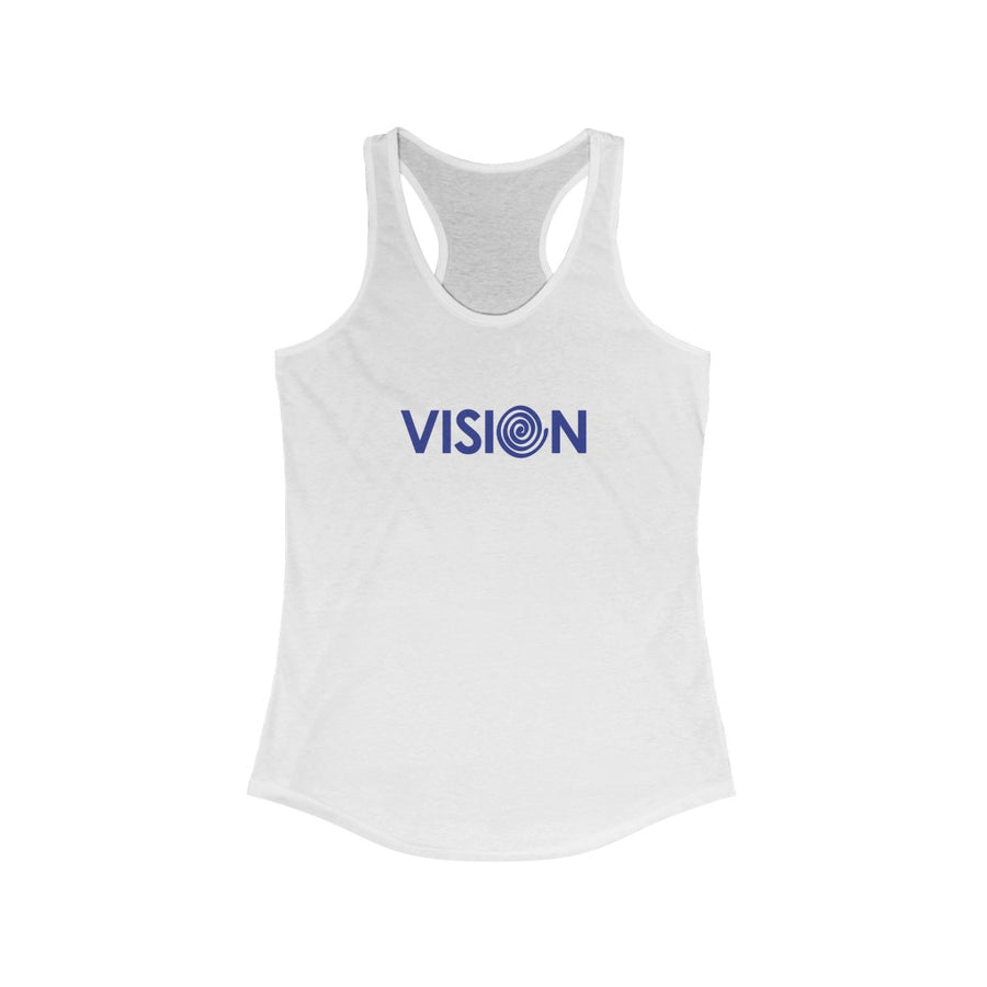 VISION | Women's Relaxed Jersey Tank Top - artrockscharity | Equality Clothing Wear Your Voice | Art Beat Live