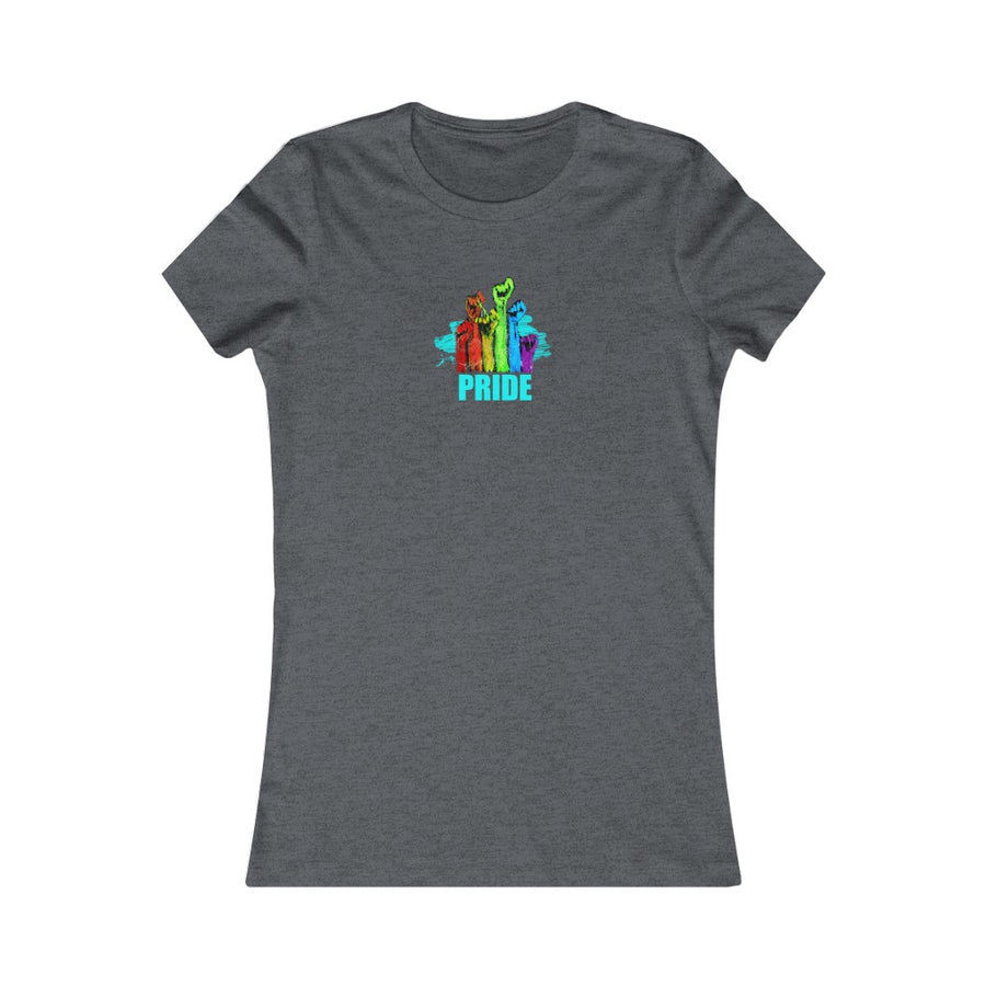 PRIDE | Women's Favorite Tee - artrockscharity | Equality Clothing Wear Your Voice | Art Beat Live