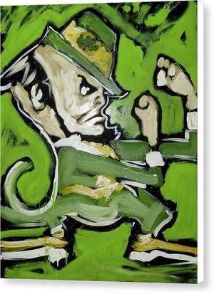 Fighting Irish - Canvas Print - artrockscharity | Equality Clothing Wear Your Voice | Art Beat Live