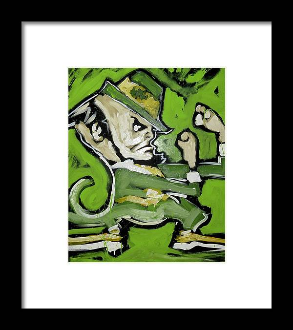 Fighting Irish - Framed Print - artrockscharity | Equality Clothing Wear Your Voice | Art Beat Live