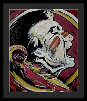 FSU logo - Framed Print - artrockscharity | Equality Clothing Wear Your Voice | Art Beat Live