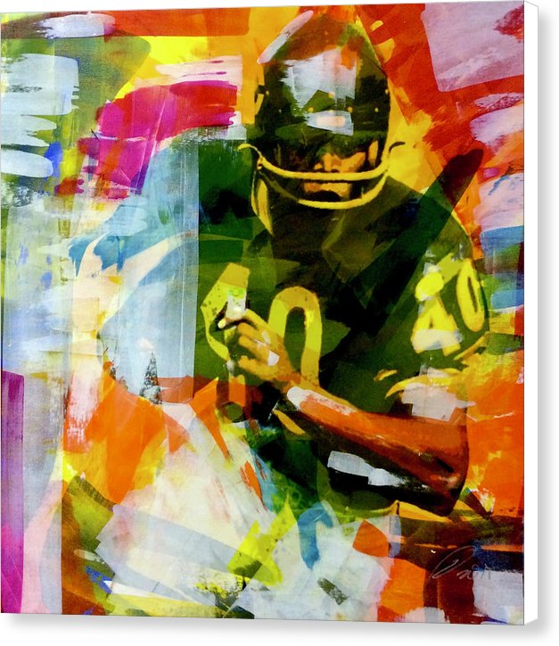 Gayle Sayers - Canvas Print - artrockscharity | Equality Clothing Wear Your Voice | Art Beat Live