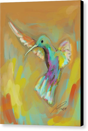 Hummingbird 2 - Canvas Print - artrockscharity | Equality Clothing Wear Your Voice | Art Beat Live