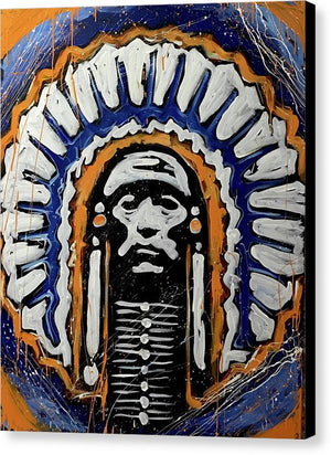 Illini logo - Canvas Print - artrockscharity | Equality Clothing Wear Your Voice | Art Beat Live