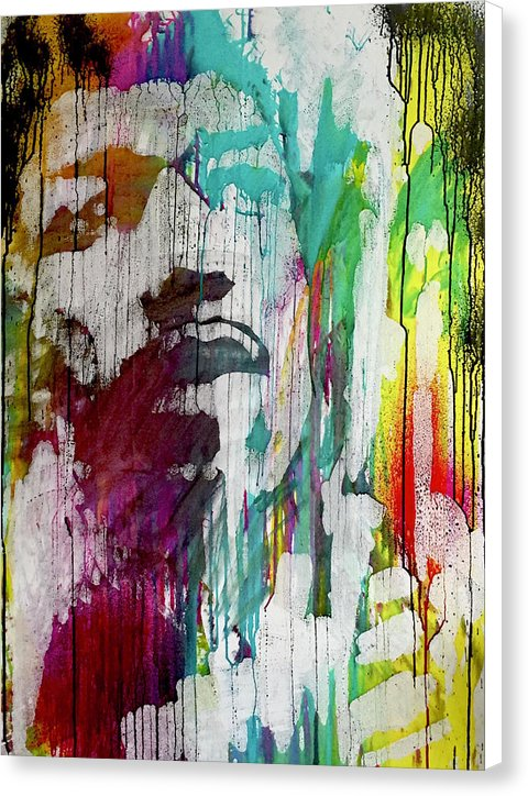 Jimi Hendrix - Canvas Print - artrockscharity | Equality Clothing Wear Your Voice | Art Beat Live