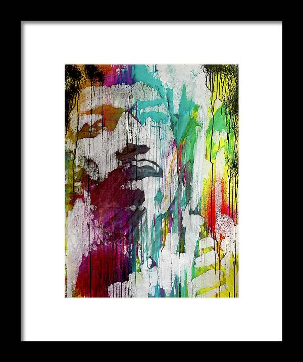 Jimi Hendrix - Framed Print - artrockscharity | Equality Clothing Wear Your Voice | Art Beat Live