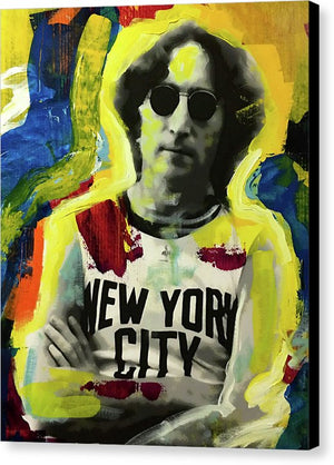 John Lennon - Canvas Print - artrockscharity | Equality Clothing Wear Your Voice | Art Beat Live