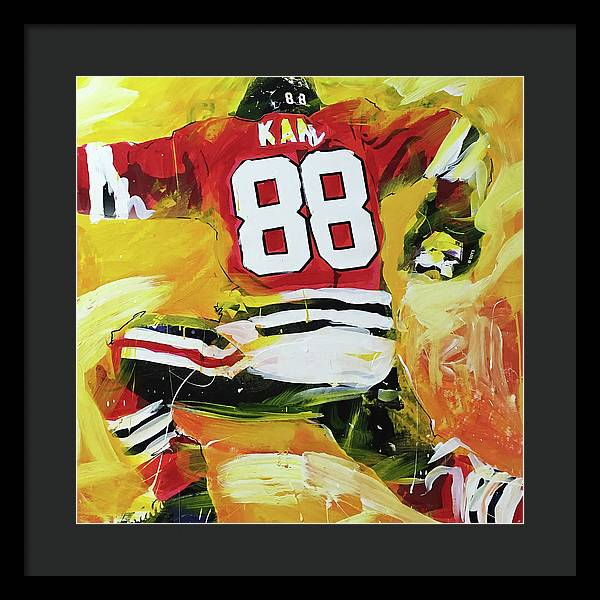Kane 88 - Framed Print - artrockscharity | Equality Clothing Wear Your Voice | Art Beat Live