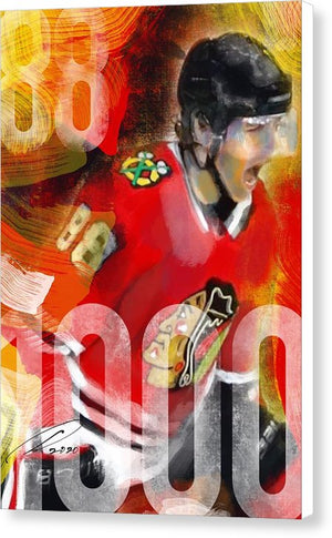 Kane 1000 - Canvas Print - artrockscharity | Equality Clothing Wear Your Voice | Art Beat Live