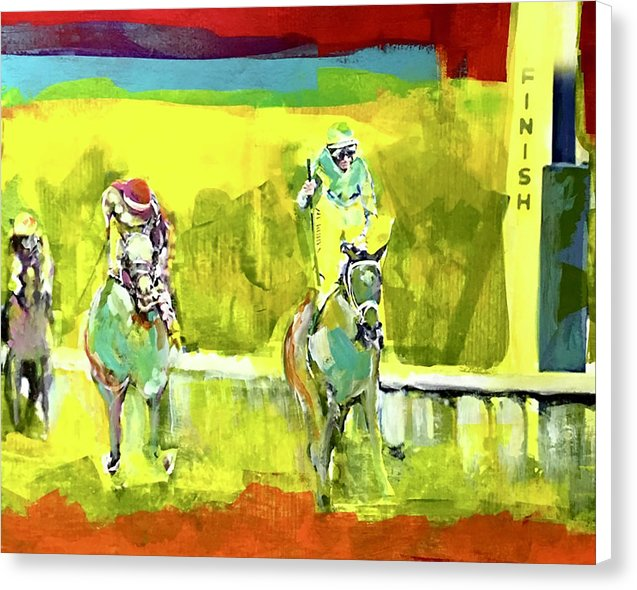 Kentucky Derby 1 - Canvas Print - artrockscharity | Equality Clothing Wear Your Voice | Art Beat Live
