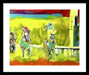 Kentucky Derby 1 - Framed Print - artrockscharity | Equality Clothing Wear Your Voice | Art Beat Live