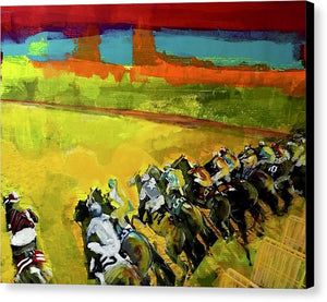 Kentucky Derby 3 - Canvas Print - artrockscharity | Equality Clothing Wear Your Voice | Art Beat Live
