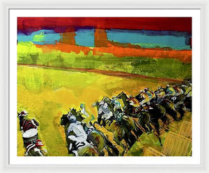 Kentucky Derby 3 - Framed Print - artrockscharity | Equality Clothing Wear Your Voice | Art Beat Live