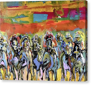 Kentucky Derby 4 - Canvas Print - artrockscharity | Equality Clothing Wear Your Voice | Art Beat Live