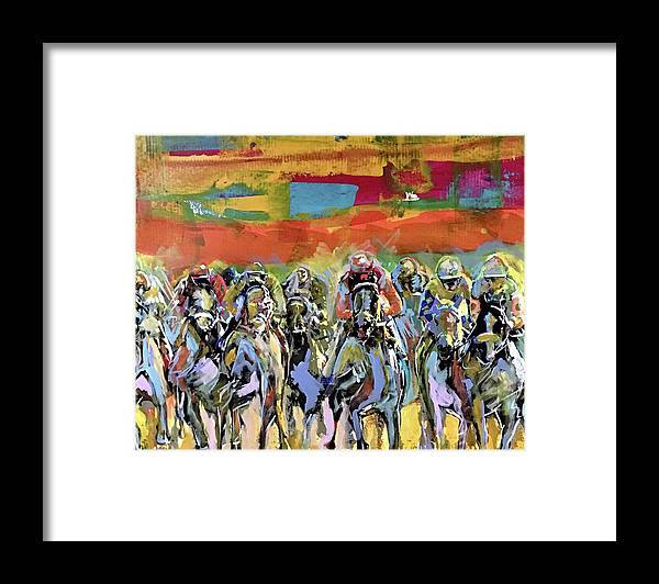 Kentucky Derby 4 - Framed Print - artrockscharity | Equality Clothing Wear Your Voice | Art Beat Live