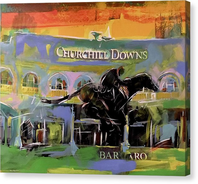 Kentucky Derby 5 - Canvas Print - artrockscharity | Equality Clothing Wear Your Voice | Art Beat Live