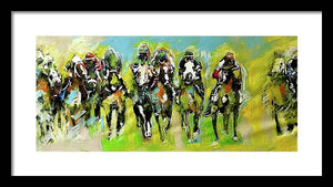Kentucky Derby 2 - Framed Print - artrockscharity | Equality Clothing Wear Your Voice | Art Beat Live