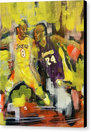 Kobe Bryant - Canvas Print - artrockscharity | Equality Clothing Wear Your Voice | Art Beat Live