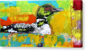 Loon - Canvas Print - artrockscharity | Equality Clothing Wear Your Voice | Art Beat Live