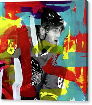Patrick Kane 2 - Canvas Print - artrockscharity | Equality Clothing Wear Your Voice | Art Beat Live