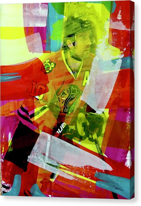 Patrick Sharp 10 - Canvas Print - artrockscharity | Equality Clothing Wear Your Voice | Art Beat Live