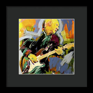 Pete Townshend - Framed Print - artrockscharity | Equality Clothing Wear Your Voice | Art Beat Live