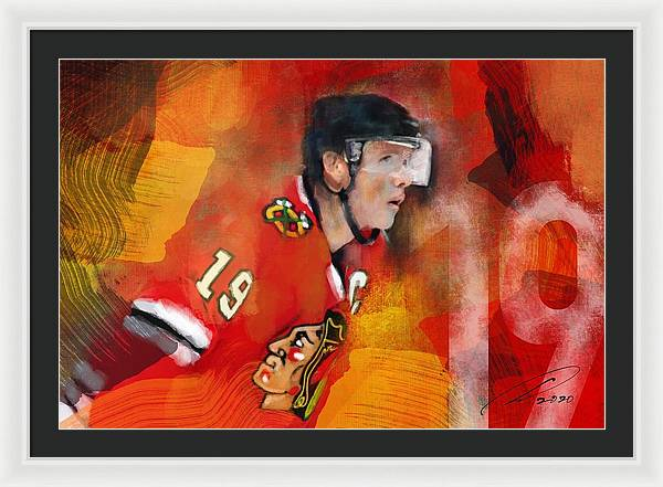 The Captain  - Framed Print - artrockscharity | Equality Clothing Wear Your Voice | Art Beat Live
