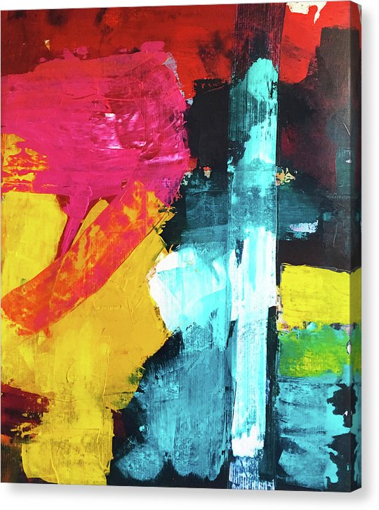 Untitled 12 - Canvas Print - artrockscharity | Equality Clothing Wear Your Voice | Art Beat Live