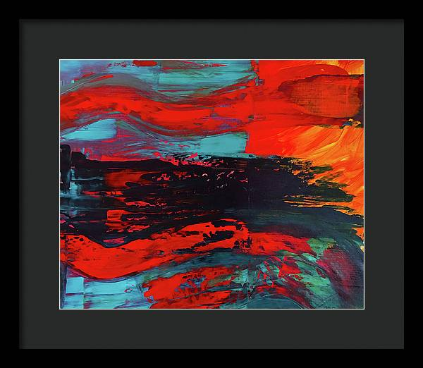 Untitled 19 - Framed Print - artrockscharity | Equality Clothing Wear Your Voice | Art Beat Live