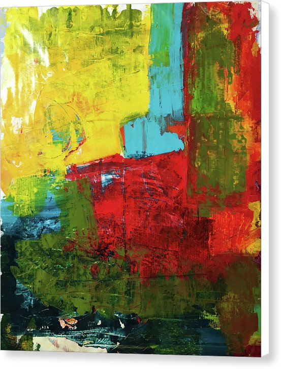 Untitled 4 - Canvas Print - artrockscharity | Equality Clothing Wear Your Voice | Art Beat Live