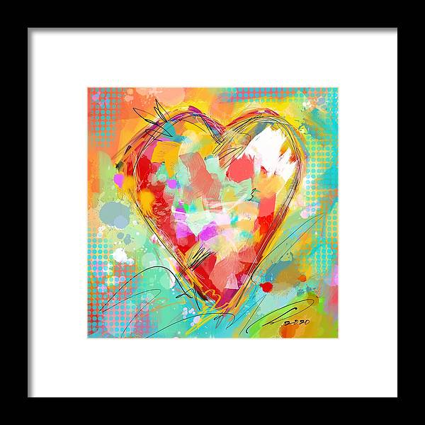 We All Need Love - Framed Print - artrockscharity | Equality Clothing Wear Your Voice | Art Beat Live