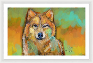 Wolf - Framed Print - artrockscharity | Equality Clothing Wear Your Voice | Art Beat Live